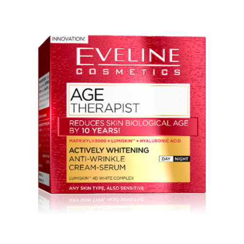 Age Therapist whitening krém web
