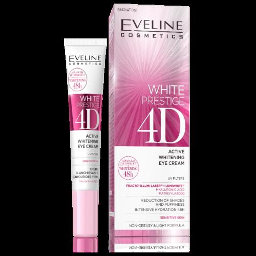 white 4D eye creme w