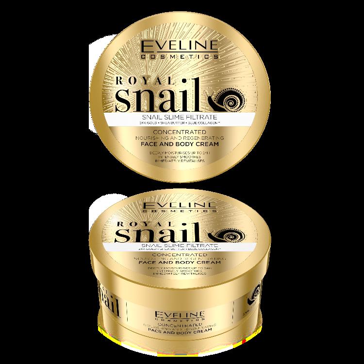 Royal Snail arc és testáp 200ml w