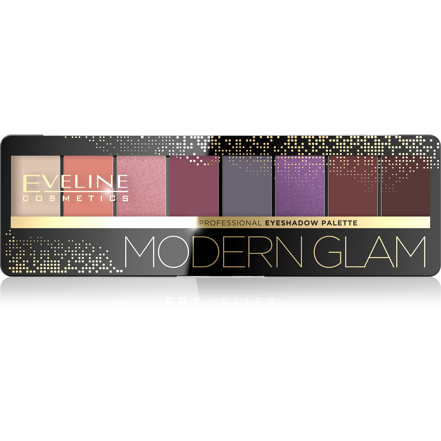 JMKCIEN8PAL3, 5901761984620 EYESHADOW 8 COLOURS PALLETTE MODERN GLAM