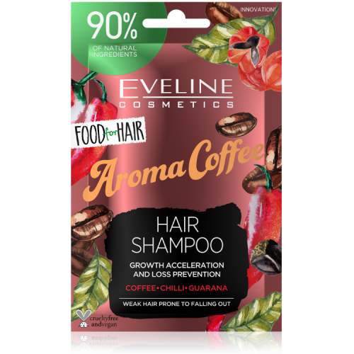 JD20FHSKAW 5903416002444 FOOD FOR HAIR AROMA COFEE HAIR SHAMPOO 20ML w