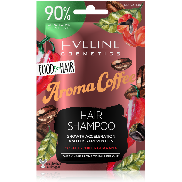 JD20FHSKAW 5903416002444 FOOD FOR HAIR AROMA COFEE HAIR SHAMPOO 20ML w