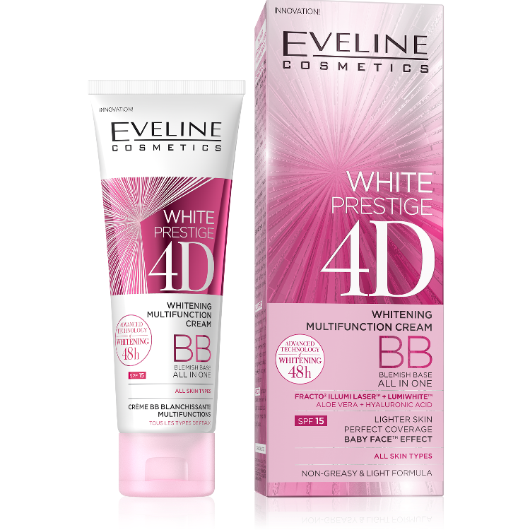 JE50WP4DBB, 5907609378132 WHITE PRESTIGE BB CREAM w