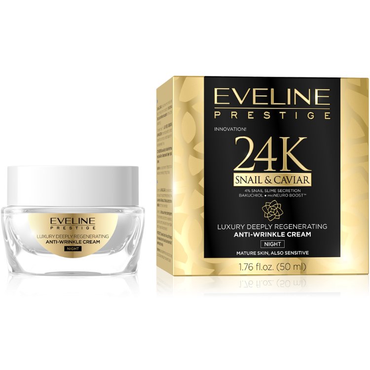 JG50S&CKNA,5903416000273 PRESTIGE 24k SNAIL&CAVIAR NIGHT CREAM 50ML w