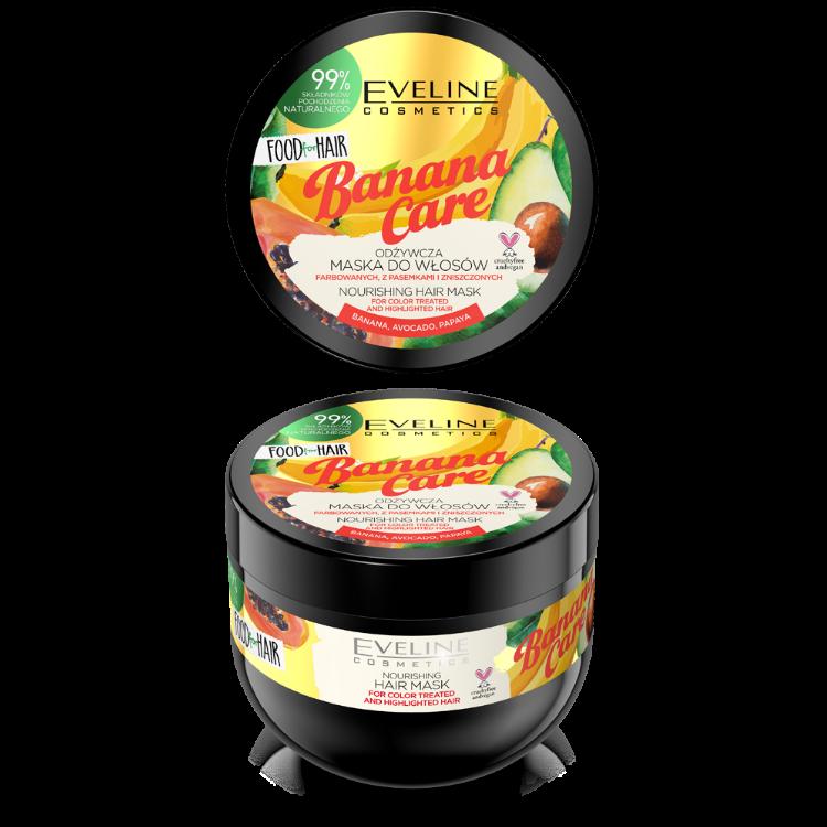 JD20FHMBAN 5903416002505 FOOD FOR HAIR BANANA CARE HAIR MASK 500MLw