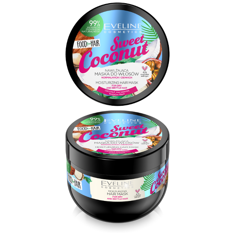 JD20FHMKOK 5903416002567 FOOD FOR HAIR SWEET COCONUT HAIR MASK 500MLw